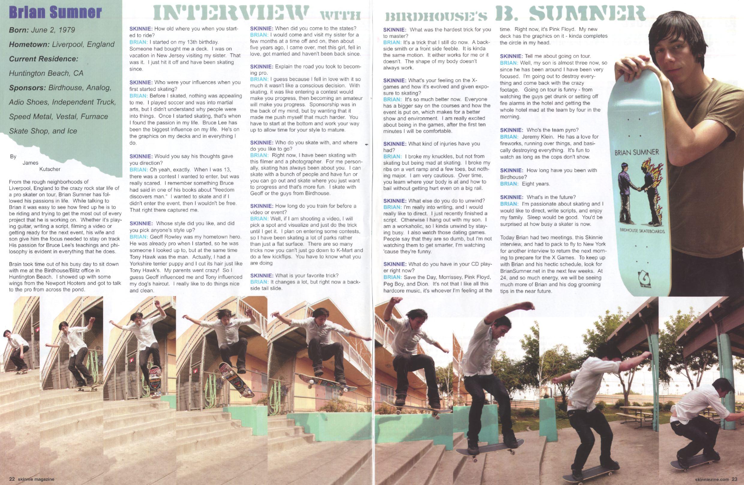 130 Skinny interview