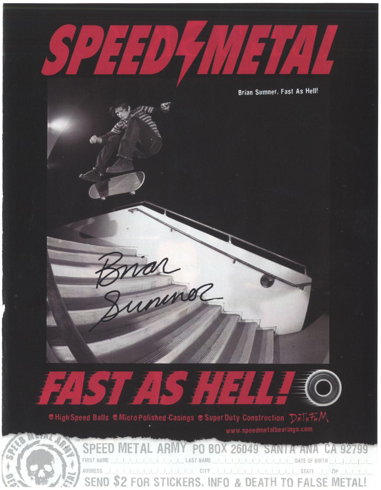 137 speed metal