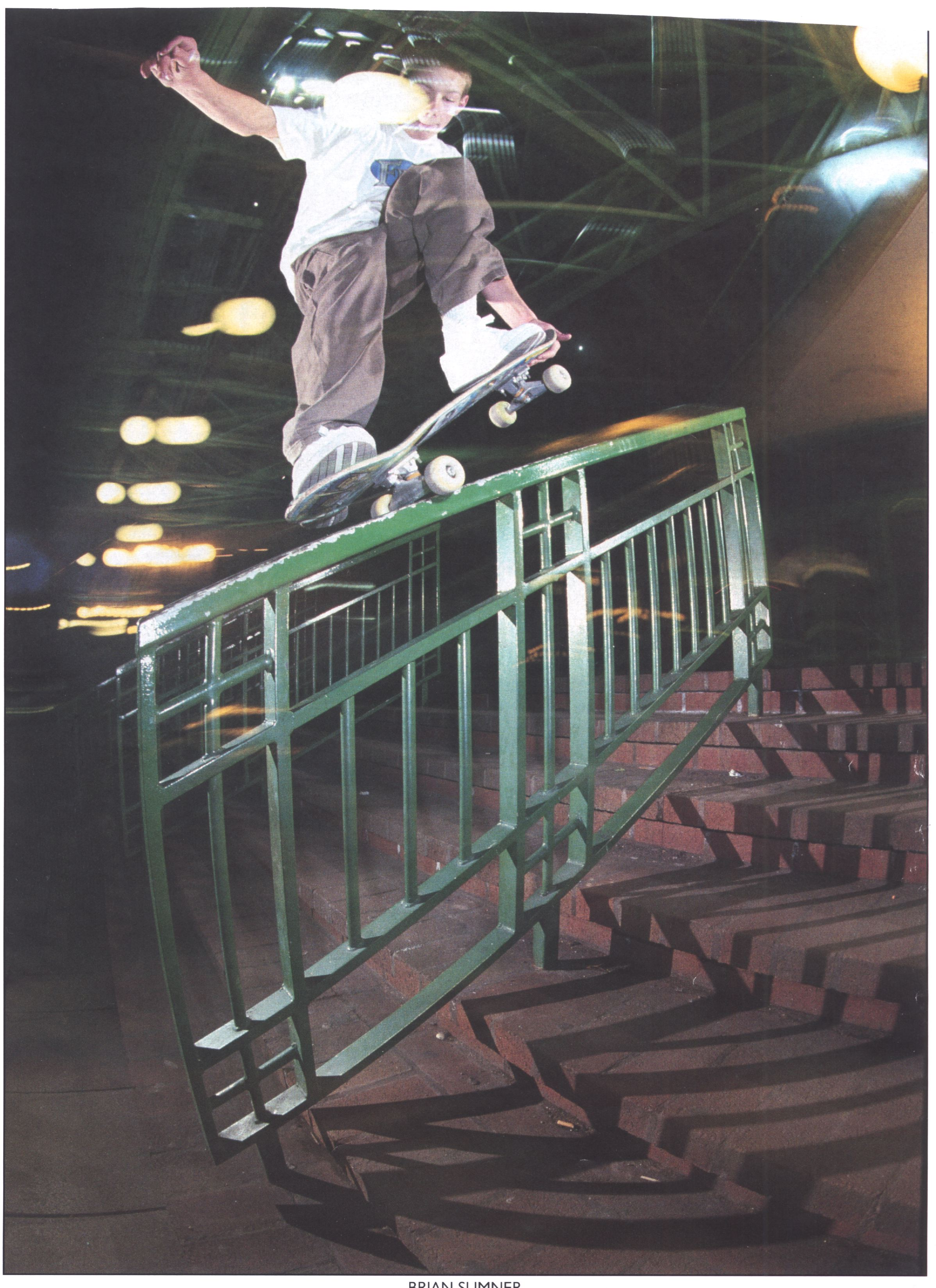 7 Nosegrind tail grab