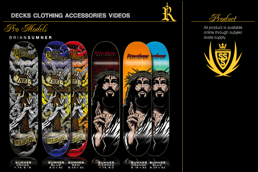 Decks, wheels, shirts, Dvds and more at Subjektskatesupply.com