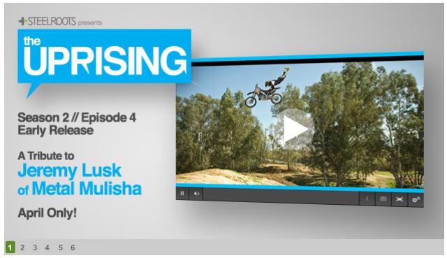 Season 2 of The Uprising Reality show sneak peak, Jeremy Lusk Tribute!