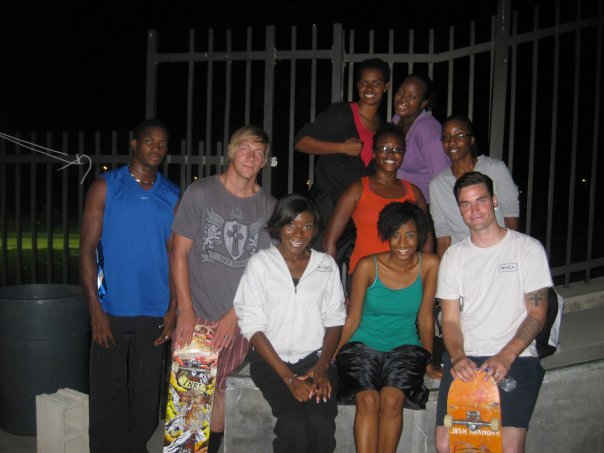 Cayman Islands skate camp with groms and Josh Harmony. This group was local Church who came and played worship and danced. Let everything that has breath Praise The Lord!