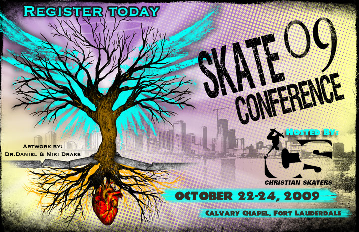 "SkateBible ""FOOLISHNESS"" movie premier at Christian Skaters Conference fall 09…"