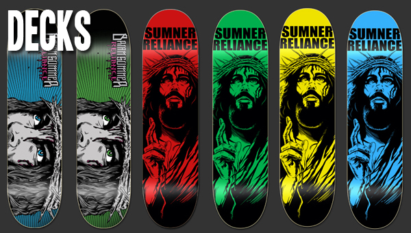 "Brian's decks available at SkateBible.com with free hat and ""Foolishness"" DVD while supplies last."