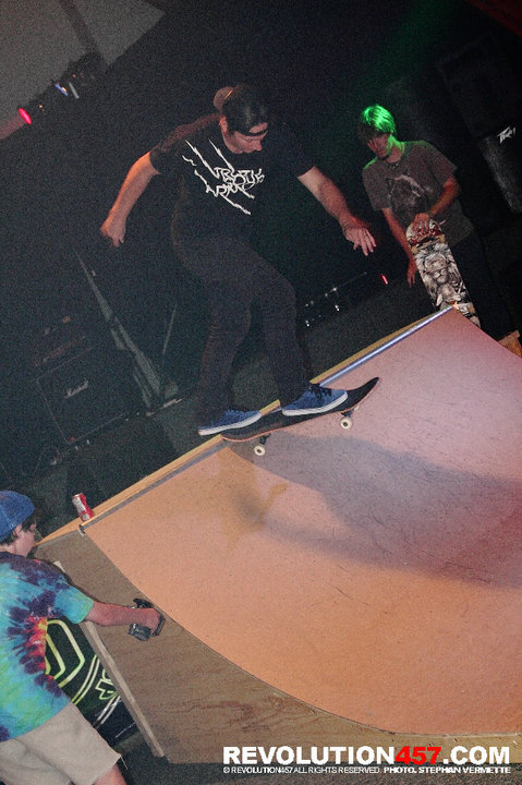 Brian was up in Canada at Living Waters church skating with the kids and sharing The Gospel!