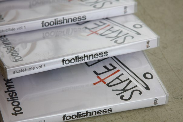 "New Foolishness DVDS back in stock. Click to order. Heres what John Piper had to say about it… """"Brian Sumner's skate-studded DVD, ""Foolishness,"" is the fullest 60-minute Gospel word i've heard.""""."