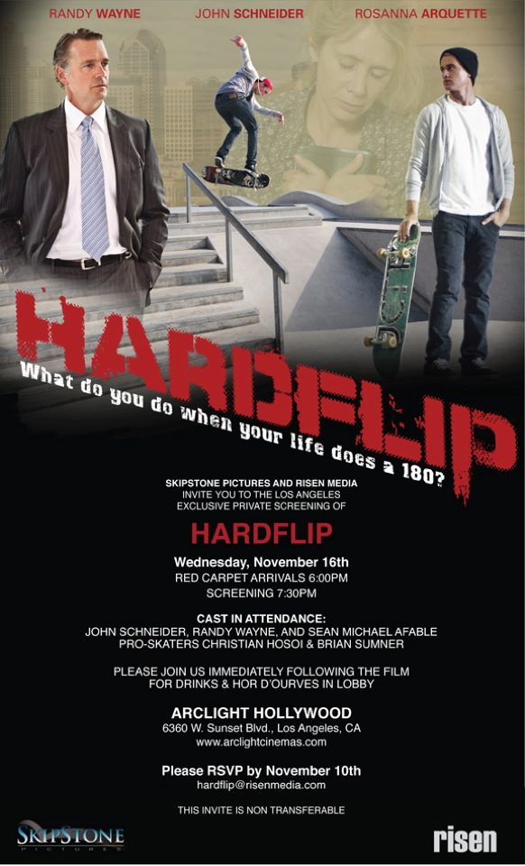 HardFlip Premier! Be Praying for this movie…