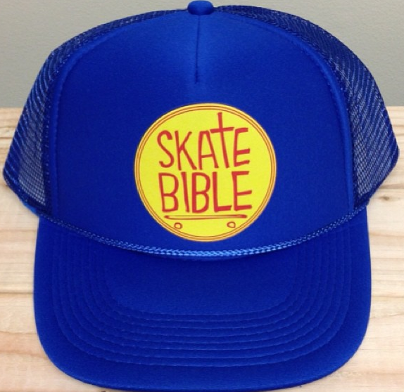 "Limited Edition ""Skate Bible"" hats. Click!"