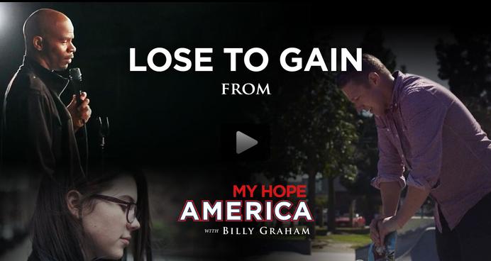 "Billy Graham ""My Hope America"" outreach video."