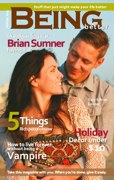"Check out ""Being Better"" magazine by clicking on the cover image. Full interview on their website!"