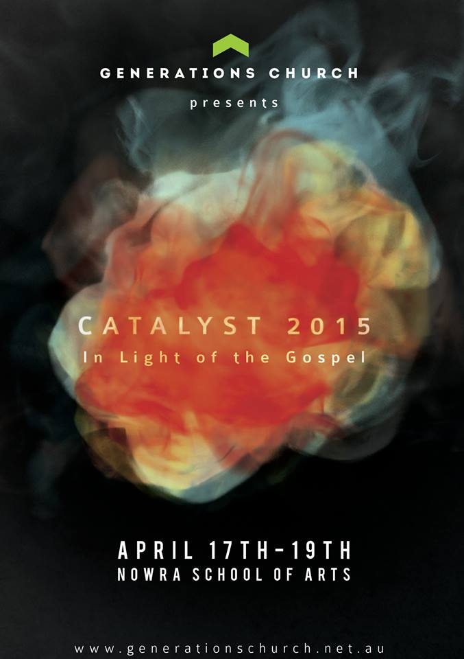 Australia in April. Looking forward to sharing at the Catalyst Conference. †