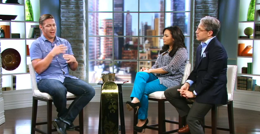 Interview from last year for 100 Huntley Street.