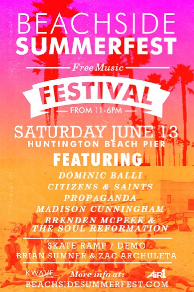 Beachside Summerfest!