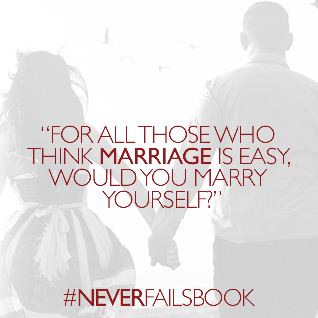 Truth! So lets be graceful, and consider the work He is doing in ourselves, and our spouse.