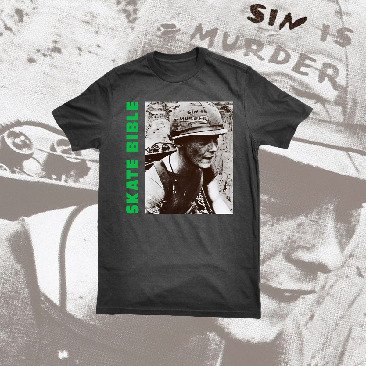 "Did you get your Limited Edition ""Sin is Murder"" shirt yet? Click now!"