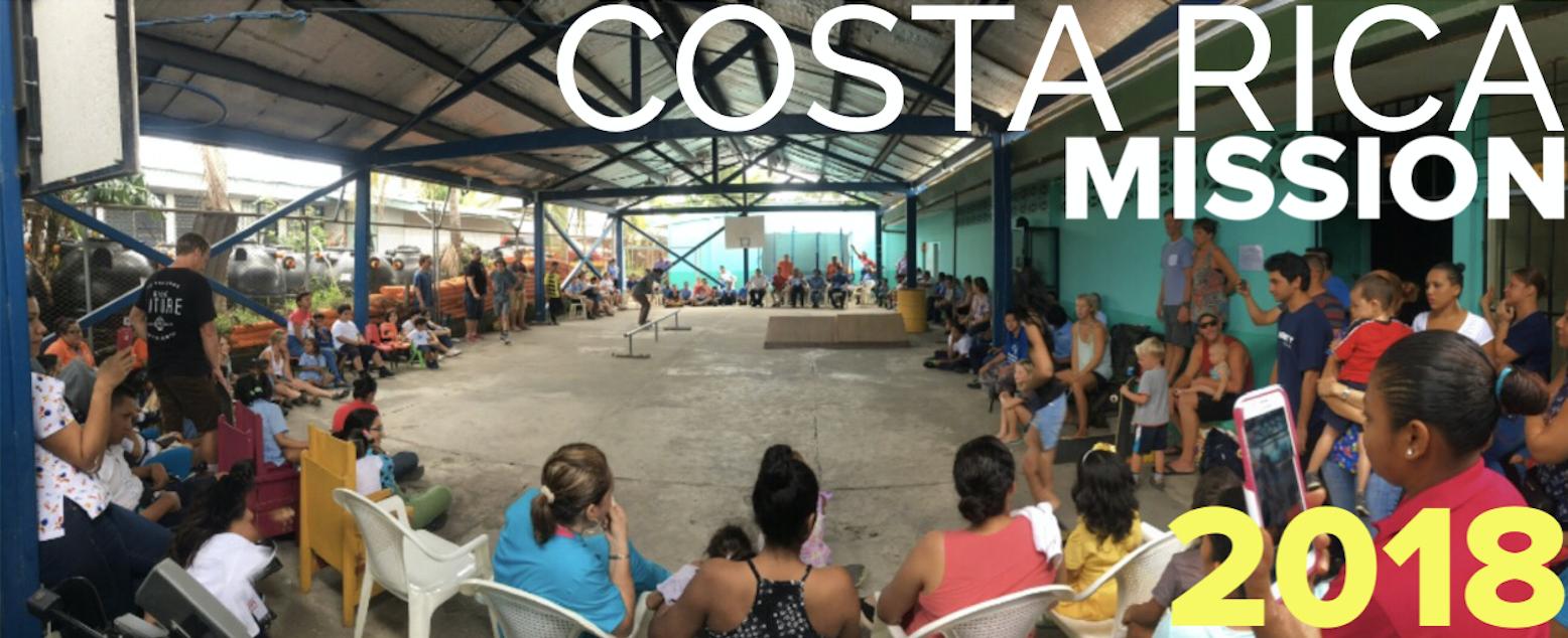 Costa Rica Missions trip 2018!