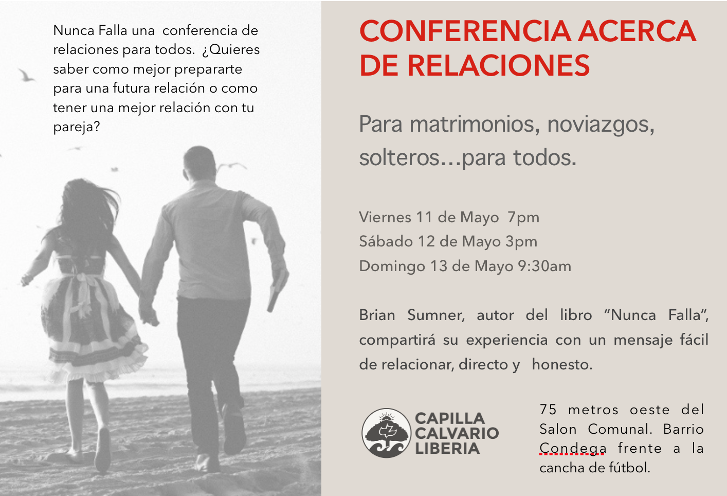 Costa Rica Marriage Conference!