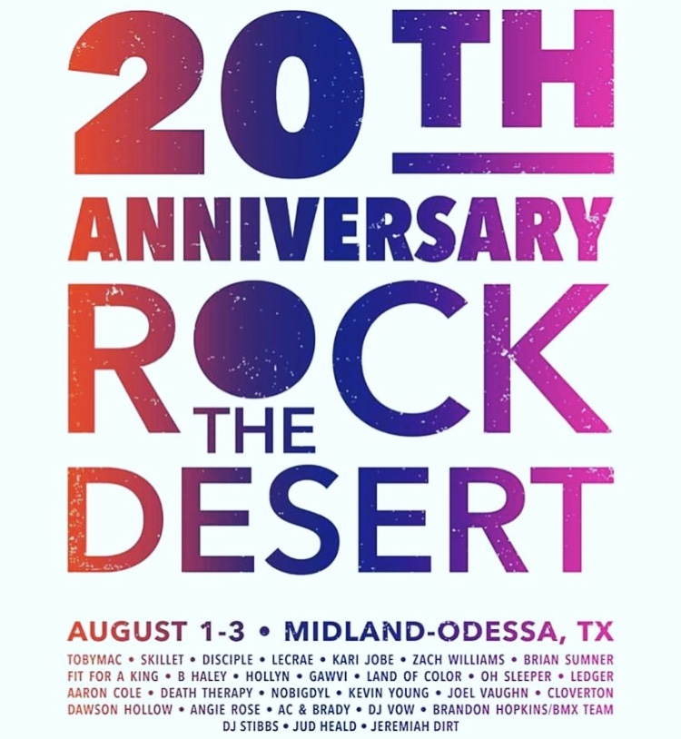 ROCK THE DESERT 2018